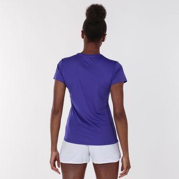 Футболка Joma - Combi Woman Фиолетовая XL