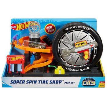"""Игровой трек """"Шиномонтажная мастерская"""" Hot Wheels, код FNB15"""