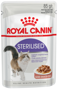 cumpără Royal Canin STERILISED (În sos)  85 gr în Chișinău