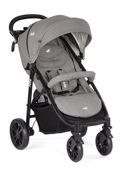 купить Прогулочная коляска Joie Litetrax 4 Gray Flannel в Кишинёве