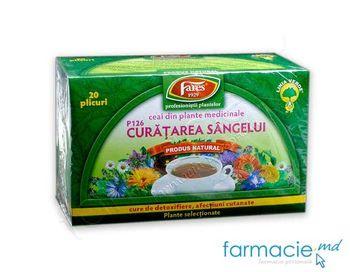 купить Чай Фарес Очищение крови (детоксикация, чистая кожа) 50г в Кишинёве