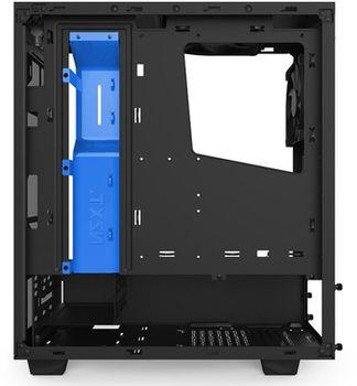 купить Case NZXT Source S340 Black-Blue Trim  w/o PSU Window (CA-S340MB-GB) в Кишинёве