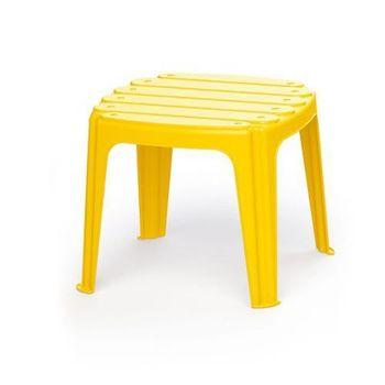Столик для детей, желтый, код 41448