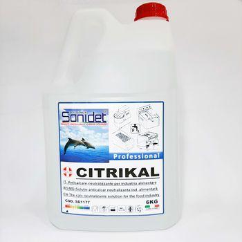 CITRIKAL - Кислотный раствор против известкового налета, 5kg