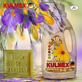 KULMEX - Гель для стирки - Savon de Marseille, 1L
