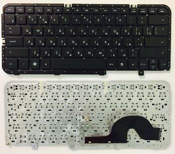 "Keyboard HP Pavilion DM3-1000 DM3-2000 w/o frame ""ENTER""-small ENG/RU Black"