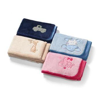 купить BabyOno Одеяло двухстороннее плюшовое 75*100 см в Кишинёве