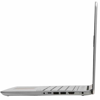 "Laptop 14"" HP 14-DQ1043 Silver, Intel i3-1005G1 1.2-3.4GHz/8GB DDR4/256GB NVMe M.2 SSD/Intel UHD Graphics/WiFi 802.11AC/Bluetooth/WebcamHD/Backlit Keyboard/14"" FHD IPS BrightView micro-edge WLED-backlit (1920x1080)/Windows10"