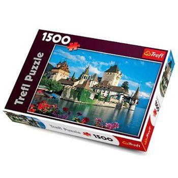 "Пазлы ""1500"" - ""Oberhofen Castle, Switzerland"", код 40543"