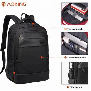 cumpără Rucsac pentru bărbați Aoking SN67273 pentru laptop 15.6'', impermiabil, ortopedic, negru în Chișinău