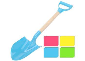 Лопата для песка детская 60cm, деревянная ручка