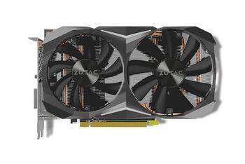 ZOTAC GeForce GTX 1060 AMP! Edition V2  6GB DDR5X, 192bit, 1835/10000Mhz, Dual Fan IceStorm, 1xDVI, 1xHDMI, 3xDisplayPort, Lite Pack