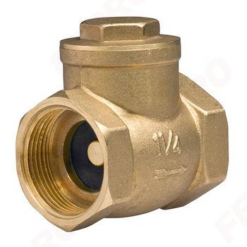 """Обратный клапан с заслонкой 1 1/2"""" PN16 ZZK5"""