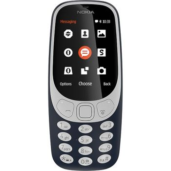 купить Nokia 3310 Dual sim, Dark Blue в Кишинёве