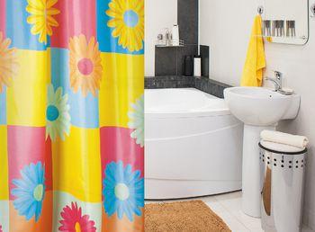 купить Tatkraft FLOWERS штора для ванной 14411 в Кишинёве