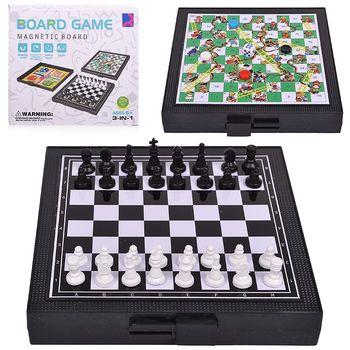 купить Шахматы магнитные 3 в 1 (15*15 cm) X R9202 (3549) в Кишинёве