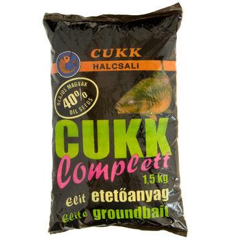 Прикормка Cukk Q44, 1500г, 40% КОНОПЛЯ