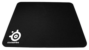 STEELSERIES QcK Mini / Soft Gaming Mousepad, Dimensions: 250 x 210 x 2 mm, Non-slip rubber base, Nearly frictionless surface, Black