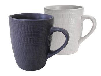 Чашка 380ml рельефная, керамика