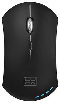 Wireless Mouse Qumo Luna, Black