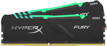 32GB (Kit of 2*16GB) DDR4-3600  Kingston HyperX® Predator DDR4 RGB, PC28800, CL17, 1.35V, BLACK heat spreader, Dynamic RGB effects featuring HyperX Infrared Sync technology, Intel XMP Ready (Extreme Memory Profiles)