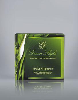 купить Крем-лифтинг для поддержания упругости кожи (дневной) Green Style в Кишинёве