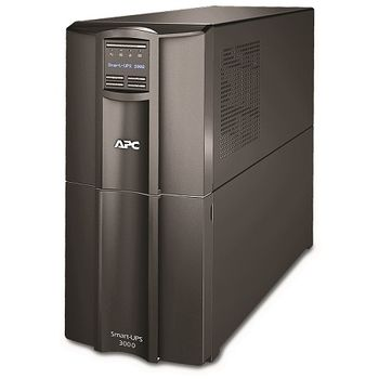 APC Smart-UPS 3000VA LCD 230V, Black, line-interactive, PowerChute Business Edition, USB, RS-232, SmartSlot, 8 IEC-320-C13 +1 IEC-320-C19 plugs