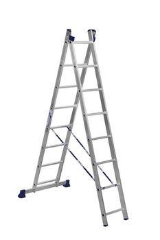 купить Ascara , VHR TK 2x8 Лестница алюминиевая двухсекционная Elkop в Кишинёве