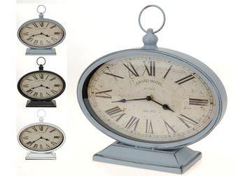 """Часы -будильник """"Ретро""""настольные 29X25cm, H10.5cm, овал"""