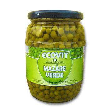 """cumpără Mazăre verde (conservată)  """"EcoVit"""" 720ml. în Chișinău"""