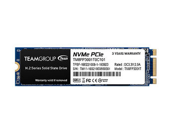 128GB SSD NVMe M.2 Type 2280 Team MP32 TM8FP3128G0C101, Read 1350MB/s, Write 400MB/s (solid state drive intern SSD/внутрений высокоскоростной накопитель SSD)