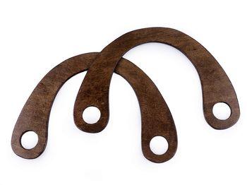 Mâner din lemn, 16x22 cm / Natural închis