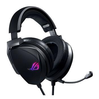Проводные игровые наушники  ASUS Gaming Headset ROG THETA 7.1, USB-C gaming headset with 7.1 surround sound, AI noise-cancelling microphone, ROG home-theater-grade 7.1 DAC, ESS quad-drivers, Headphones 20 ~ 40000 Hz, Mic 100 ~ 10000 Hz, RGB lighting