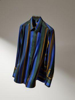 Блуза Massimo Dutti В полоску 5160/868/518