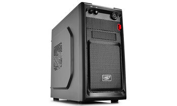 "DEEPCOOL ""SMARTER"" Micro-ATX Case,  without PSU, Fully black painted interior, VGA Compatibility: 320mm, CPU Cooler Compatibility: 165mm, support backplate cable management design, 1x 2.5"" Drive Bays, 1xUSB3.0, 1xUSB2.0 /Audio, Black"