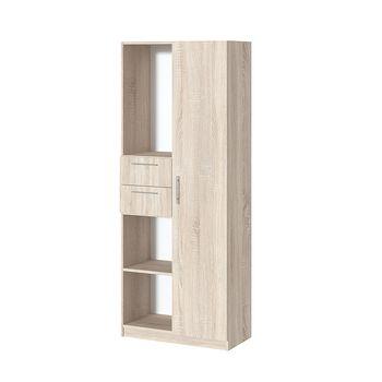 Office Line №4 Шкаф комбинированного типа Дуб сонома