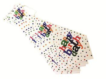 Набор галстуков Happy Birthday 6шт