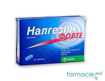 купить Налгезин Форте табл. в оболочке 550 мг N10 в Кишинёве