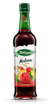 купить Сироп Herbapol Raspberry with Linden, 420 мл в Кишинёве