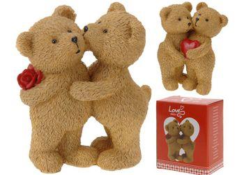 """Сувенир два Медвежонка """"Valentine"""" 10cm"""
