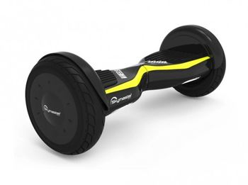 """Skymaster Wheels Dual 11 Hoverboard, Black/Yellow, Wheel 10.0"""", Speeds of up to:15km/h, LG Battery capacity: up to 20km, Weight:10.8kg, Maximum load: 85kg, Power Wheels: 300W, Bluetooth (Speakers), Carry Bag, Taotao motherboard"""