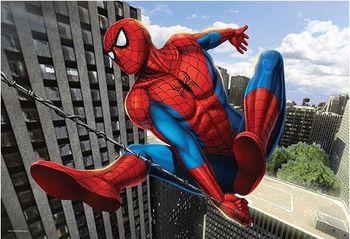 "15221 Trefl Puzzles - ""160"" - Skyscrapers climbing  / Disney Marvel Spiderman"