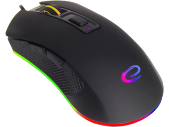 купить Mouse Esperanza ASSASSIN MX601, Gaming mouse, 6000dpi, optical sensor, RGB LED, USB braided cable в Кишинёве