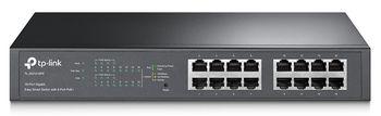 купить TP-LINK TL-SG1016PE 16-Port Gigabit Easy Smart Switch в Кишинёве
