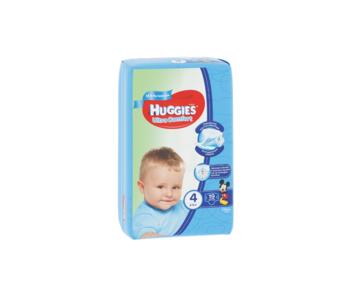 cumpără Scutece Huggies Ultra Comfort Small pentru băieţel 4 (8-14 kg), 19 buc. în Chișinău