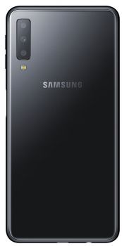 купить Samsung A750F Galaxy A7 (2018) Duos, Black в Кишинёве
