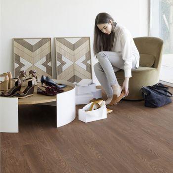 купить Дизайнерская плитка GERFLOR Creation 30 DB 0740 Royal Oak Cofee, Size: 184 x 1219 mm в Кишинёве