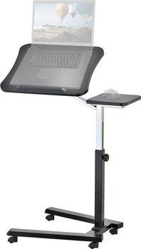 """купить Стол для ноутбука Tatkraft """"JOY"""", на колесиках, с подставкой для мышки, цвет: черный 13407 в Кишинёве"""