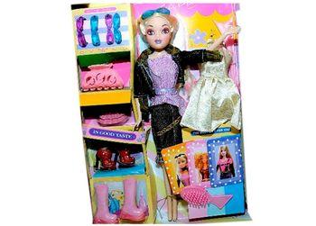 """Set papusa cu accesorii """"Fashion Doll"""", 32X25X7cm"""