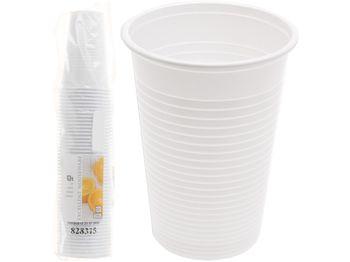 Набор стаканов одноразовых EH 50шт, 220ml, белые